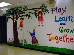 There's traditional framed art, lightweight and unframed canvases, object collages, metal wall sculptures and more. 20 Attractive Kindergarten Classroom Decoration Ideas To Make It Look Catchy Talkdecor