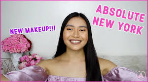<b>ABSOLUTE NEW YORK</b> MAKEUP | REVIEW & TUTORIAL - YouTube