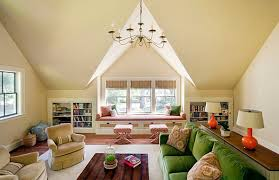view in gallery attic makeover colorful living room conversion attic conversion ideas for a flawless makeover attic lighting ideas