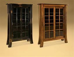 bookcases with sliding glass doors office furniture shaker bookcase solid wood