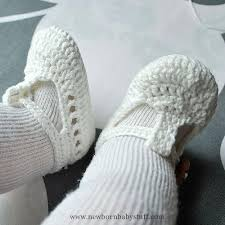 Crochet Baby Sandals Pattern Adorable Crochet Baby Booties Ravelry One Strap Baby Sandals Pattern By