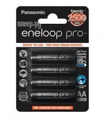Купить <b>AA</b> - <b>Panasonic</b> Eneloop Pro 2500 mAh (4 штуки) BK ...