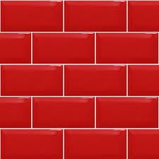 Red Brick Tiles Kitchen Brillo 30x10cm Red Brick Effect Wall Tiles 1 Sqm 33 Tiles Ebay