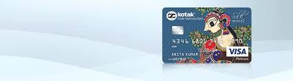 credit card silk inspire credit card for women ping by kotak mahindra bank