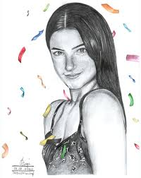 Charli damelio drawing Artist: lukizika fiza art in 2020 | Art drawings  sketches creative, Drawing artist, Pencil art drawings