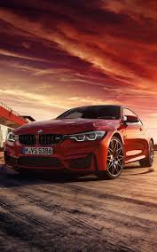 red bmw m4 coupe hd mobile wallpapers