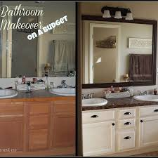 bathroom remodels on a budget. Best 25 Budget Bathroom Makeovers Ideas On Pinterest Pertaining To For A Decor Remodels