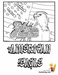 July 4th 04 american eagle coloring pages book for kids boys gif