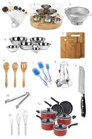 a list of basic kitchen essentials for every kitchen to get you started
