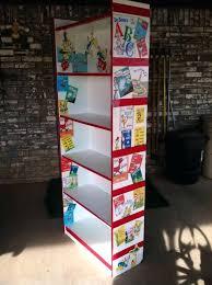 dr seuss rug my crew bookcase garage bookcase plus red duct tape printouts paint dr dr seuss rug