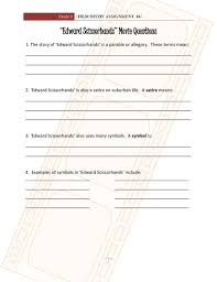 edward scissorhands questions pdf flipbook edward scissorhands questions