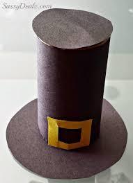 pilgrim hat toilet paper roll thanksgiving craft for kids crafty morning