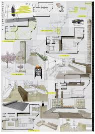 Concept Layout Architectural Drawing Rendering Architectural Plans Presentation