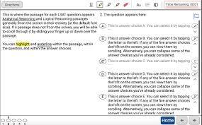 You Can Now Test Out The Digital Lsat Blueprint Lsat Blog