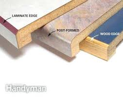 formica countertop edges