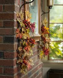 fall office decorating ideas. harvest maple u0026 berry swag fall office decorating ideas n
