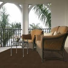 6x8 ft solid dark brown area rug modern indoor outdoor contemporary floor carpet