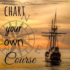 Chart Your Course Quotes Chart Your Own Course Boating Quotes Quote Posters Me Quotes