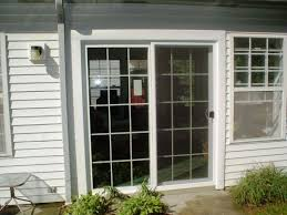 back to the awesome sliding glass patio doors