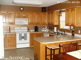 painted wooden kitchen cabinets kitchen colors with