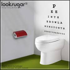 bathroom wall decals and decoration alternatives for lavatory home