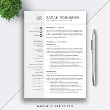 Student Resumes Template Student Resume Template 2019 Professional Cv Template Simple Design Cover Letter Word Resume Modern Creative 1 2 3 Page Sarah