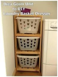 laundry basket shelf dresser shelves diy room laundry basket dresser shelves