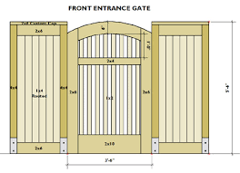 Small Picture From the Drawing Board Gate Designs FencesGates Arbors and