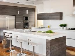Small Kitchen Reno Stainless Steel Countertop Brown Color Wooden Large Kitchen