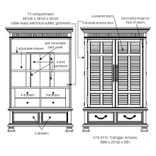Kingstown Bedroom Furniture Tommy Bahama Kingstown Trafalgar Armoire Armoires Chests