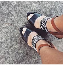 shoes brown leather black leather wedges wedge sandals platform wedges spring outfits