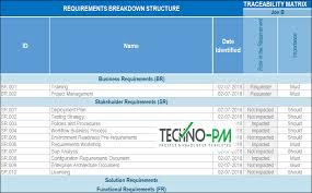 requirements traceability matrix templates requirements traceability matrix template to help you keep