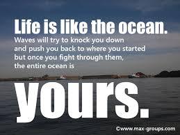 Ocean Quotes Simple Top 48 Maritime Quotes Max Groups MarineMax Groups Marine