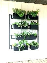 outdoor wall planters hanging indoor metal planter diy plante