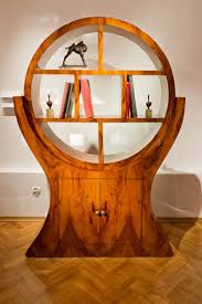 deco style furniture. Art Deco Round Circle Open Shelves Style Furniture T