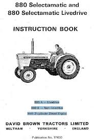 case david brown tractor 880 selectamatic livedrive a b manual 3 david brown 995 wiring diagram david brown tractor instruction operation manual on cd