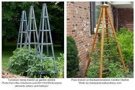 garden obelisk trellis. Trellis Or Garden Obelisk. Mary Lou Smith / Landscape Design - Blog Obelisk