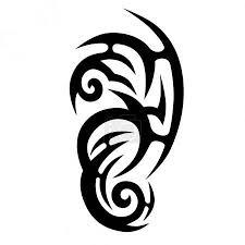 Vektor Tribal Designs Tribal Tattoos Art Tribal Tattoo 145199691