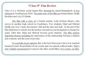How To Write A Movie Review Bac2 Film Review Writing Simplified Planning Practice