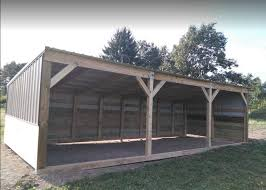 heavy duty portable horse barn livestock shelter goat shed sheep shed wood shed