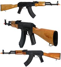 cyma ak 47 airsoft aeg with real wood and stamped steel receiver 11
