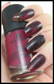 Gothic Nail Art Stamping - Lazy Betty