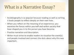 what is a narrative essay powerpoint what is a narrative essay powerpoint