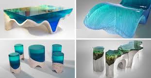 acrylic furniture. Furniture Collection DelMare Eduard Locota Acrylic