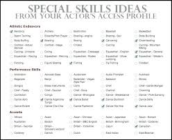 resume example for skills section skills based resume example skills for resume special skills resume