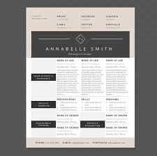 Modern Resume Cover Letters Modern Elegance Resume Cover Letter References Template Package