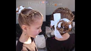 結婚式 髪型子供でも簡単でかわいい外人風ヘアアレンジ方法 結婚