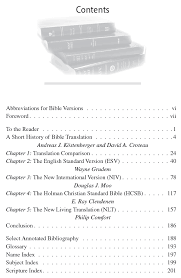 Which Bible Translation Should I Use A Comparison Of 4