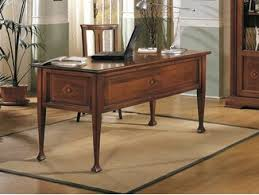 wood office desk. Rectangular Solid Wood Office Desk ESTENSI |