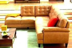 camel colored leather sofa color sectional couch reclining